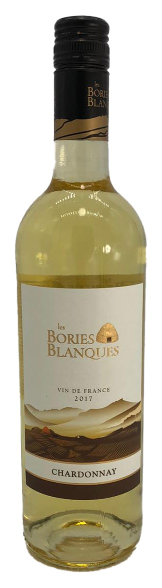 Les Bories Blanques Chardonnay trocken 2017