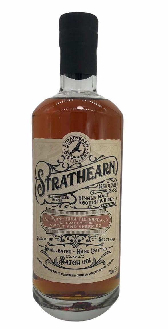 Strathearn Sherry Single Malt Scotch