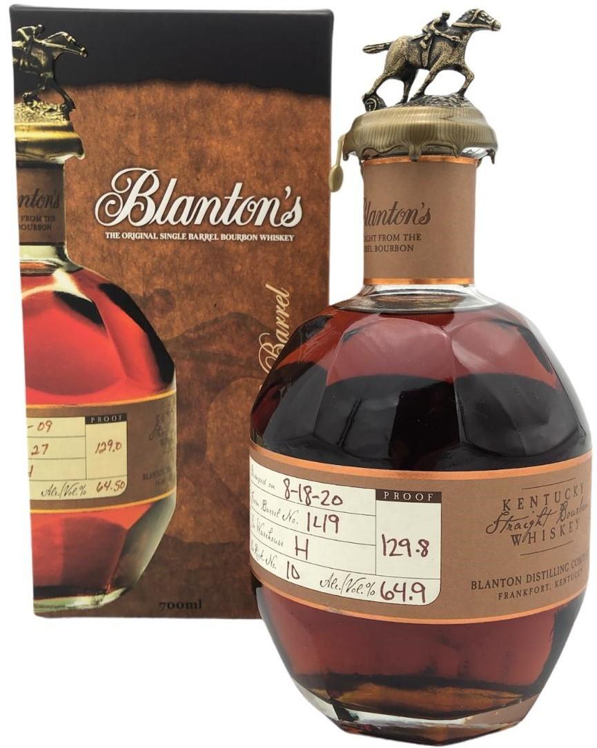 Blanton's Straight from the Barrel ca. 67%vol