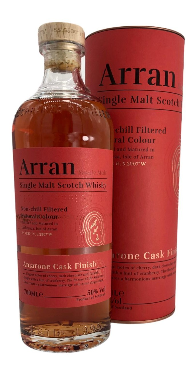 The Arran Malt Single Malt 0,7 L Amarone Cask Finisches