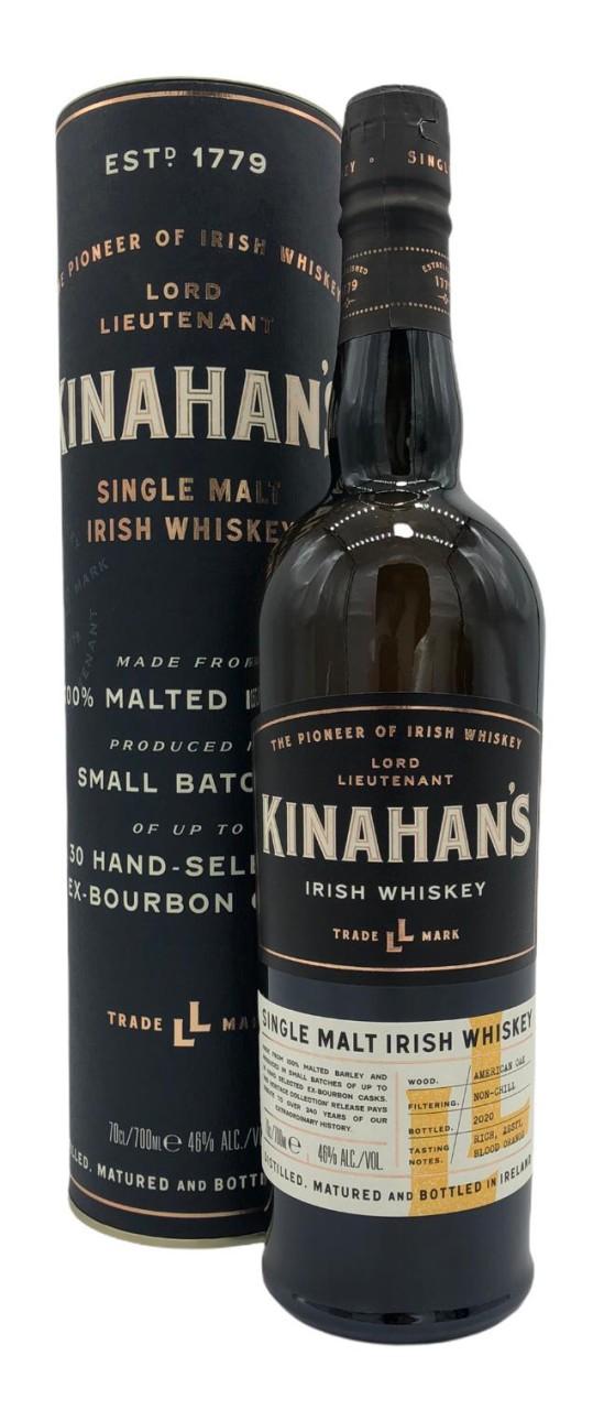Kinahan's Single Malt Irish Whiskey 46% 700 ml