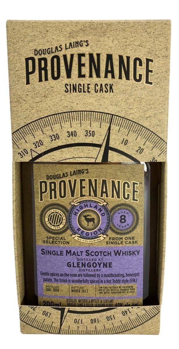 Douglas Laing´s Provenance Single Cask Glengoyne 200ml