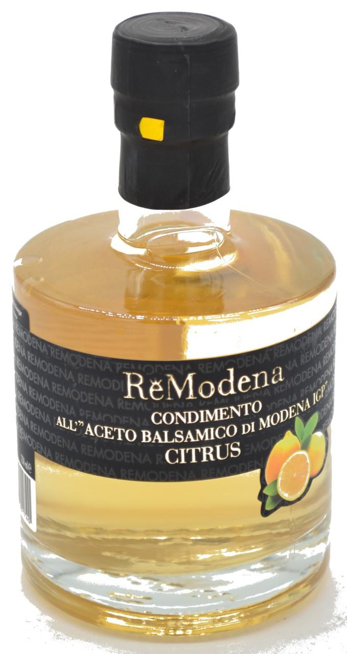 Re Modena Condimento All Aceto Balsamico IGP Citrus 0,25l