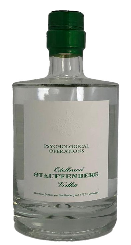Stauffenberg Vodka Psychological Operations
