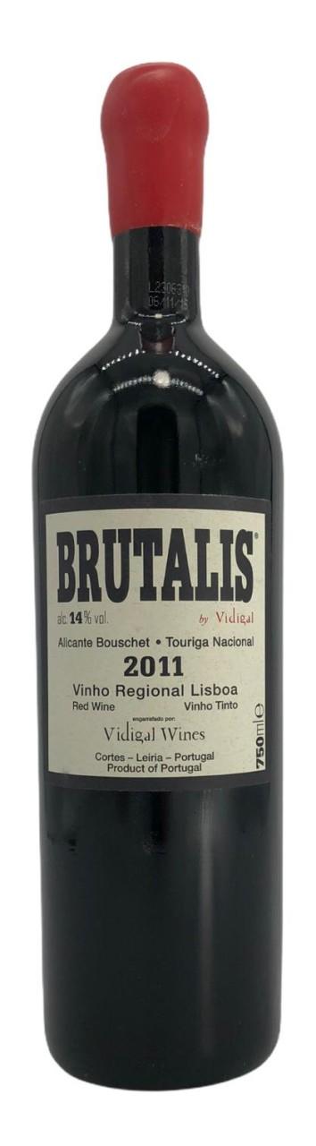 Brutalis Alicante Bouschet Touriga Nacional Rotwein trocken 2011
