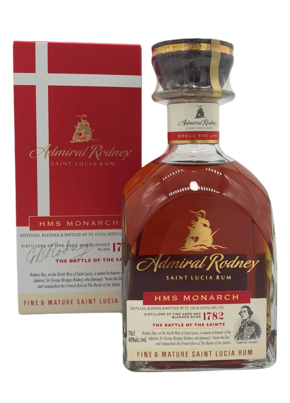 Admiral Rodney HMS MONARCH St. Lucia Distillers