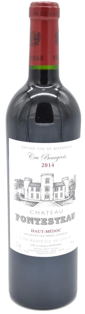 Chateau Fontesteau Cru Bourgeois Rotwein 2014