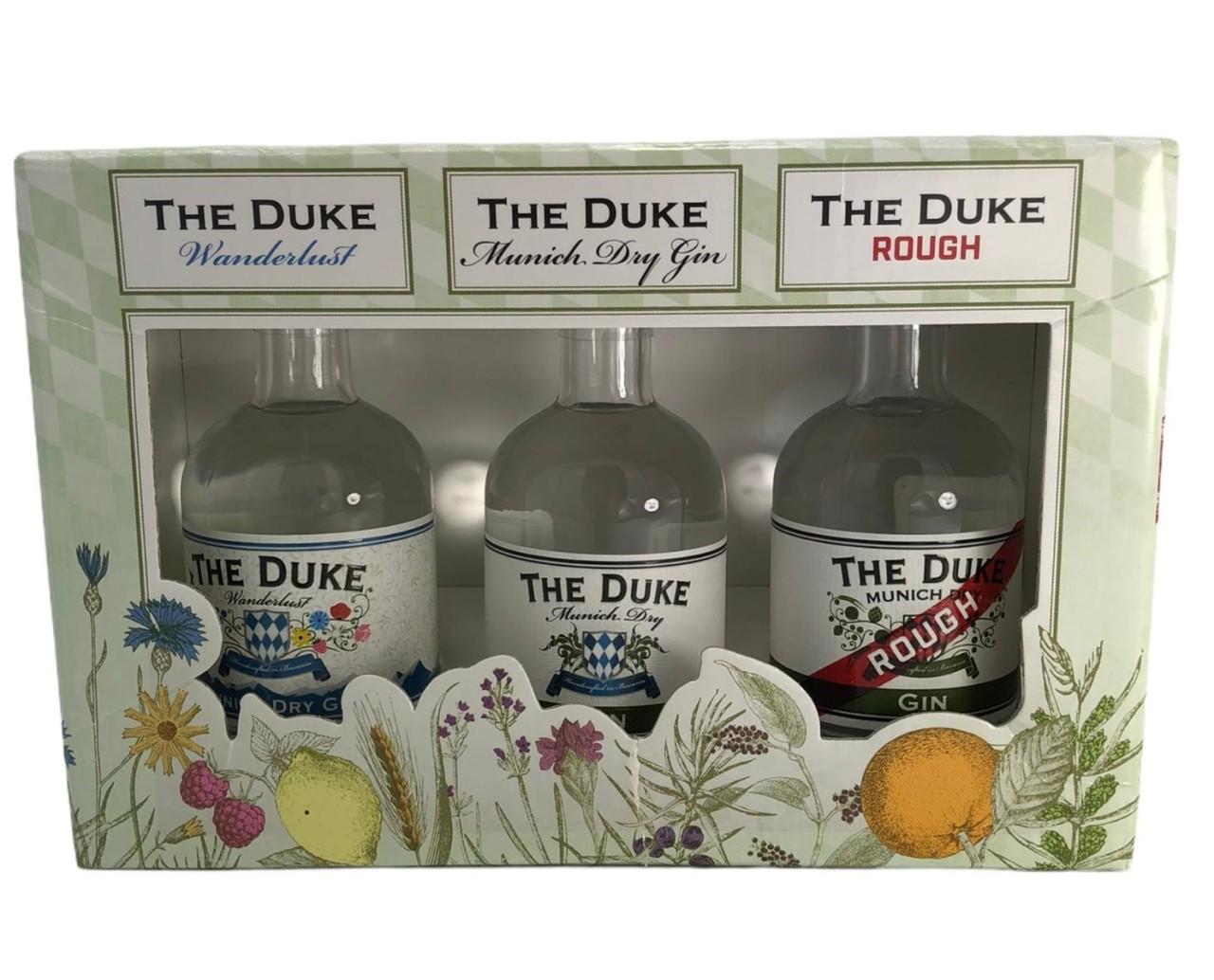 The Duke 3er Geschenkbox 0,1 L (1x Wanderlust, 1x Munich Dry, 1x Munich Rough)