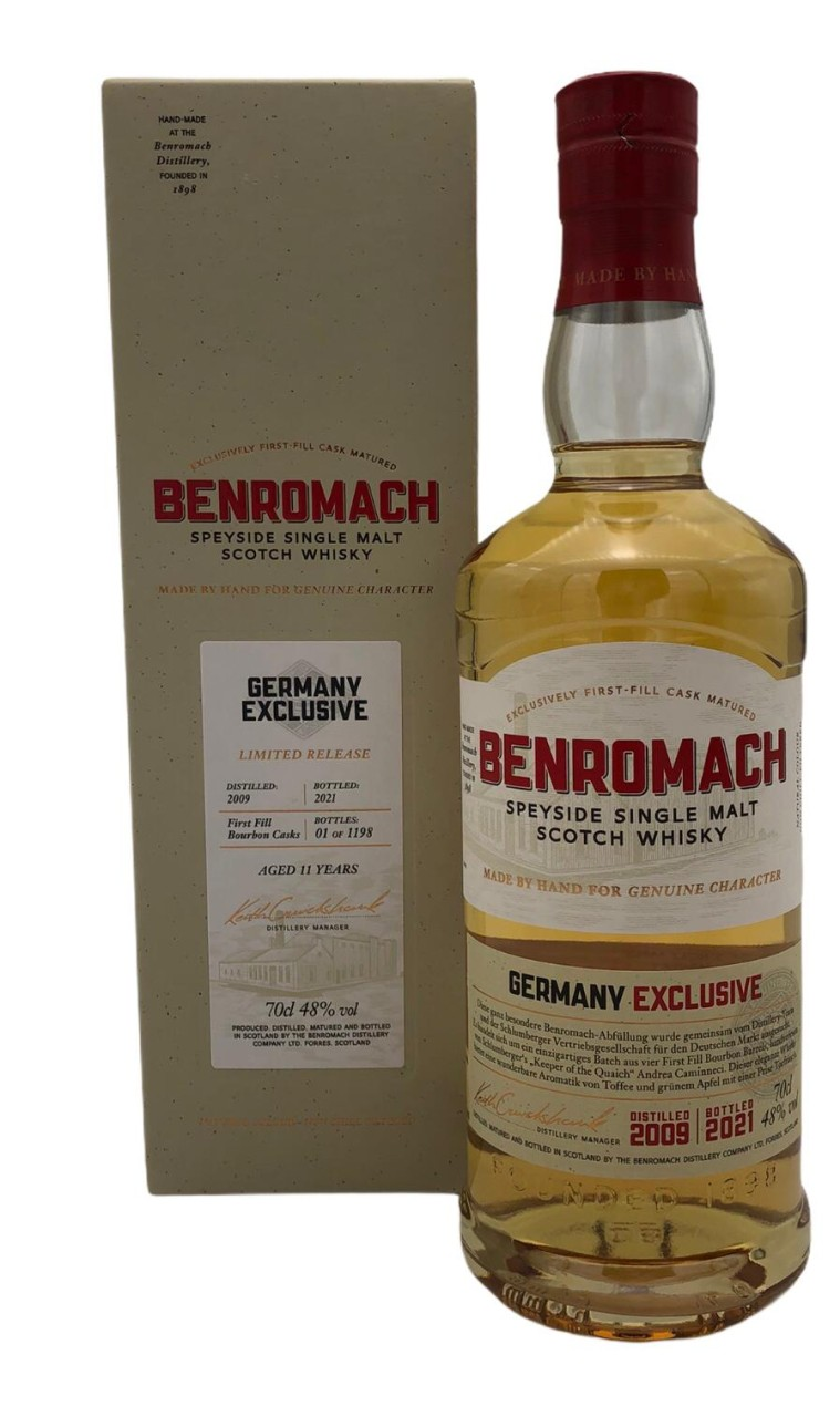 Benromach 2009 Germany Exclusive Batch 48% vol