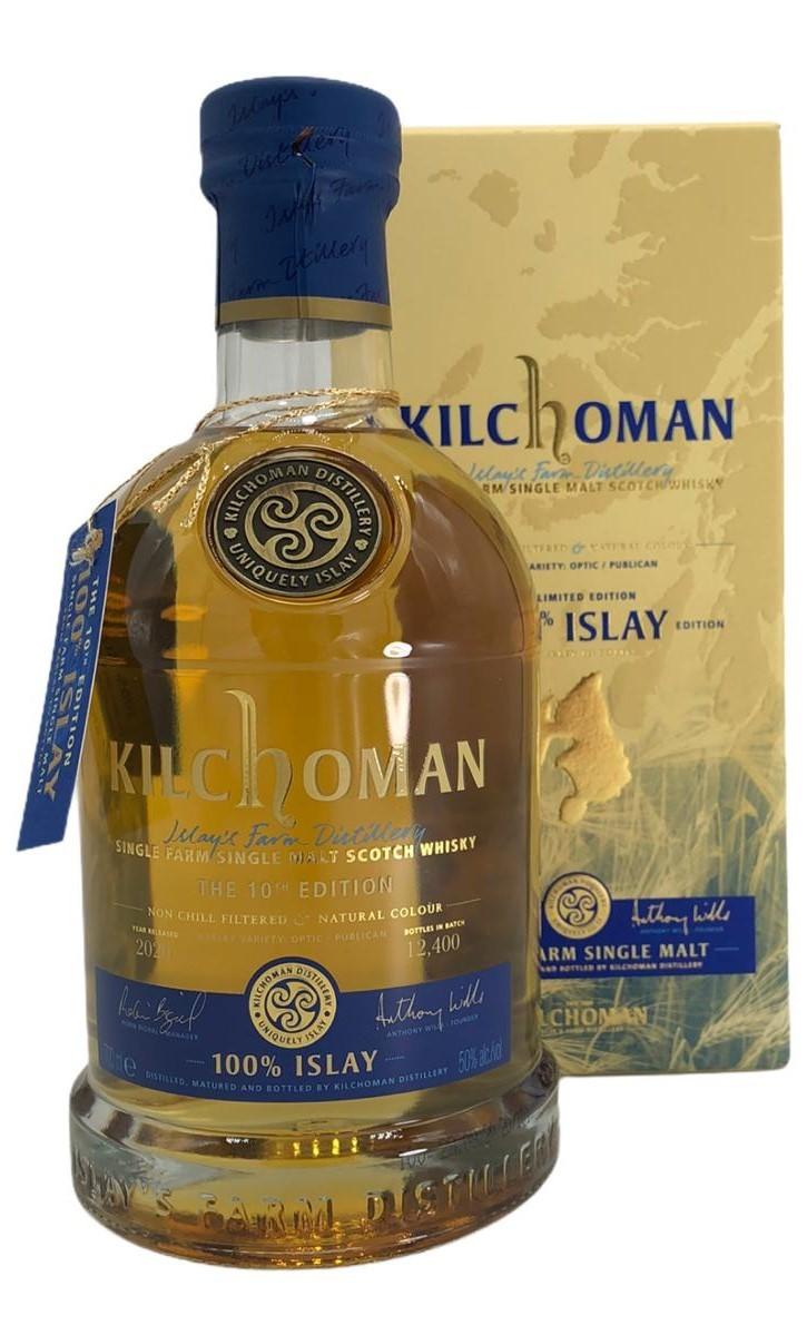 Kilchoman Tenth Edition 100% Islay Islay Single Malt