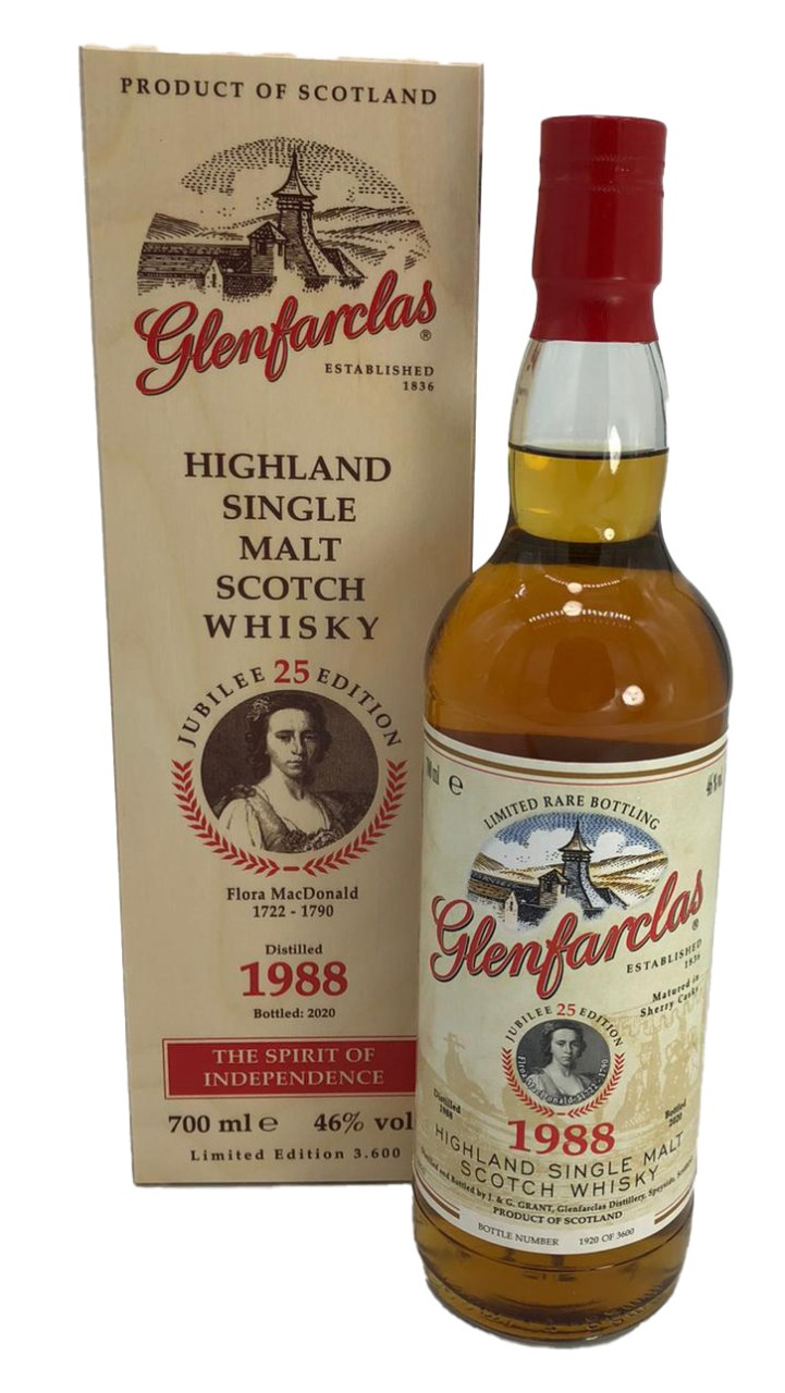 Glenfarclas Edition 25 Flora MacDonald Speyside Single Malt