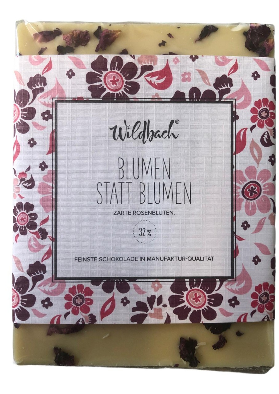 Wildbach Blumen statt Blumen 32% 70g