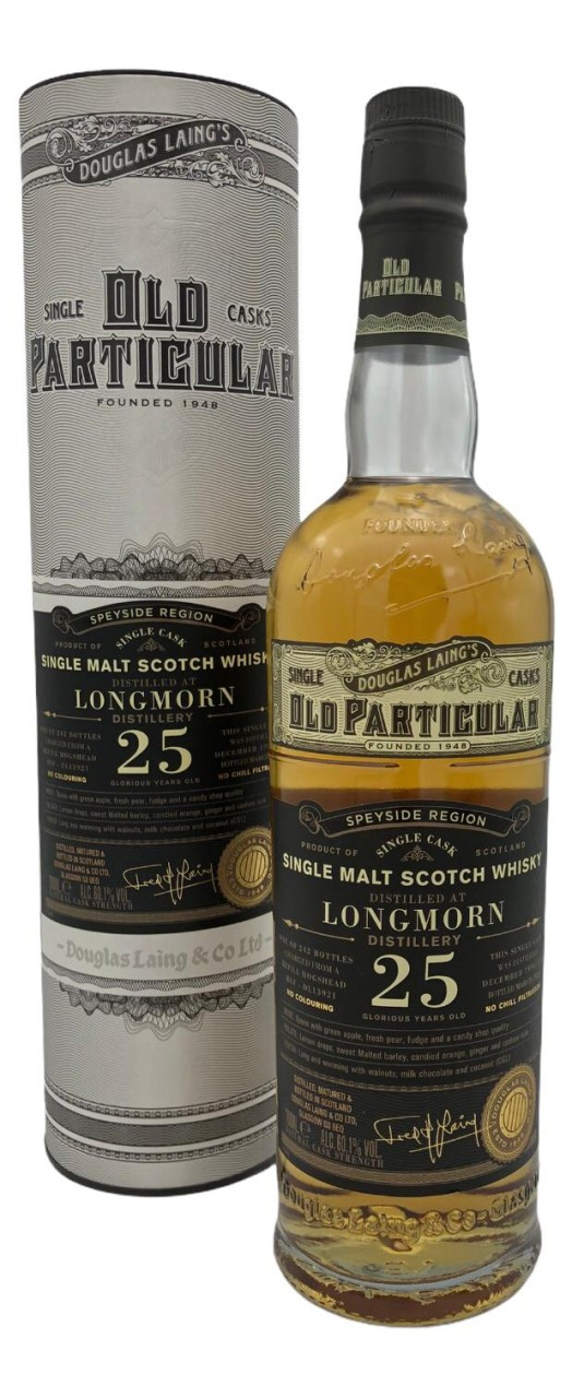 OLD PARTICULAR Longmorn 25 Years Old