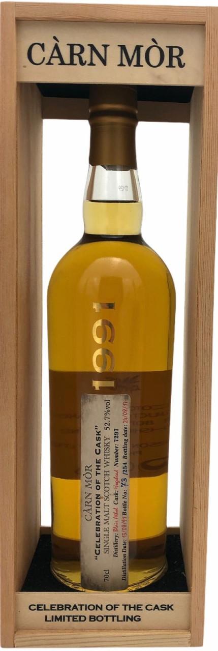 """Carn Mor """"Celebration of the Cask"""" 1991 Single Malt Scotch Whisky 52,7% vol. 0,7l"""