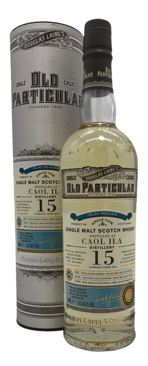 OLD PARTICULAR Caol Ila 15 Years Old 0,7l