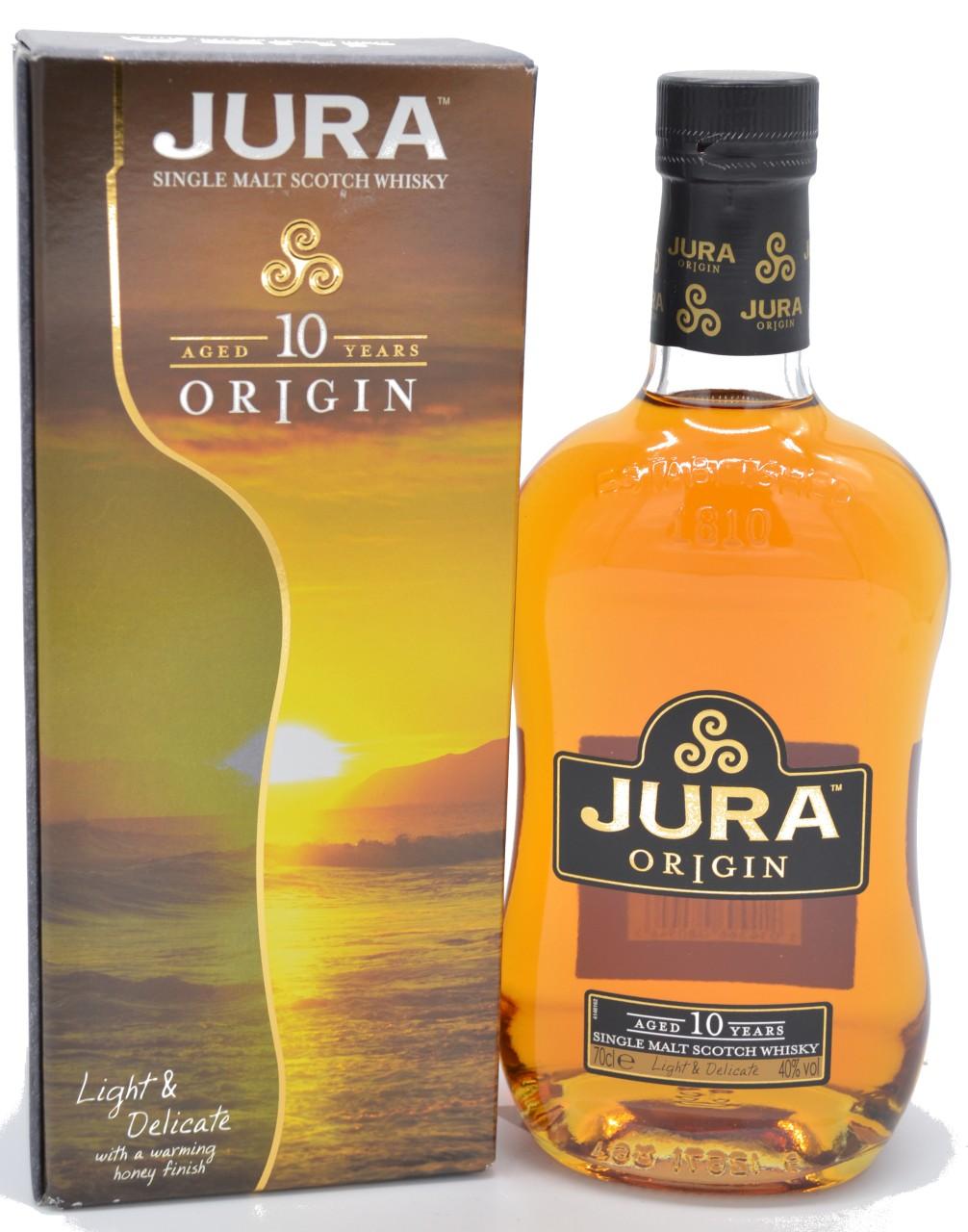 Jura Single Malt 10 Years Origin 0,7 L