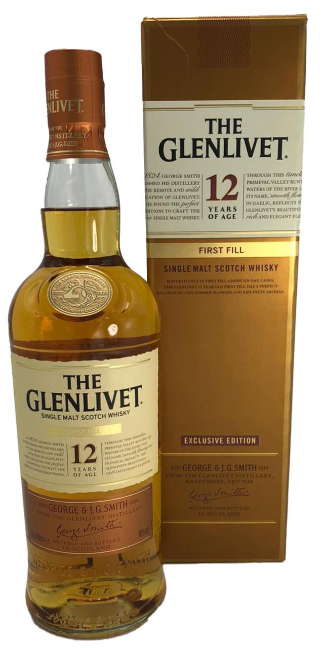 The Glenlivet 12 Years Old First Fill Single Malt