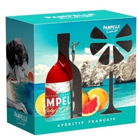 Pampelle Grapefruit Aperitif in GP mit Glas