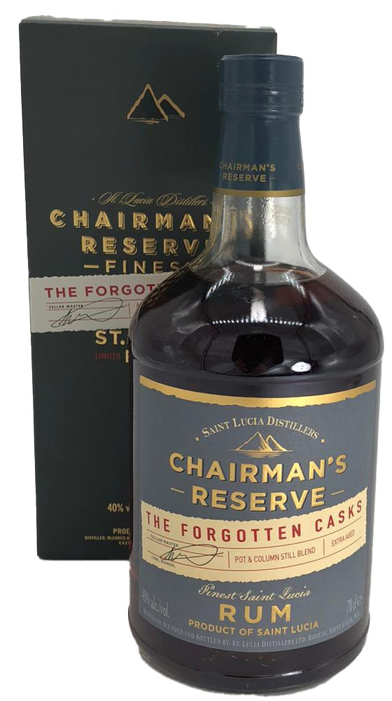 Chairman´s reserve Finest St. Lucia Rum