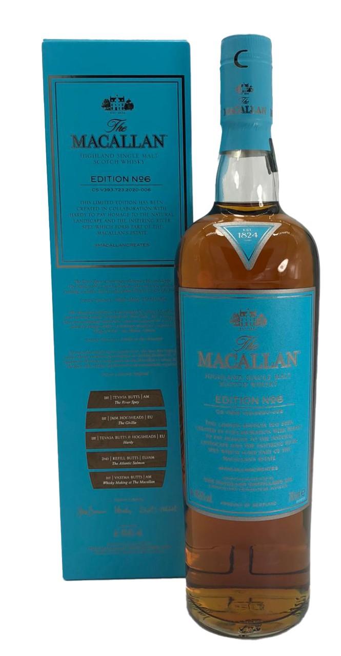 The Macallan Edition No. 6 Fine Oak Highland Malt