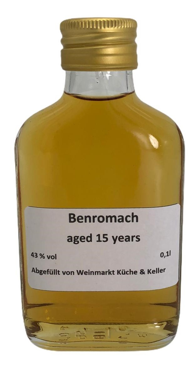 Benromach Speyside 15 Years Old 0,1 l