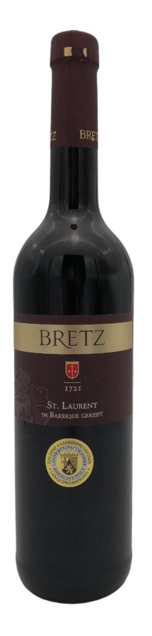 Weingut Ernst Bretz St. Laurent im Barrique gereift 2016
