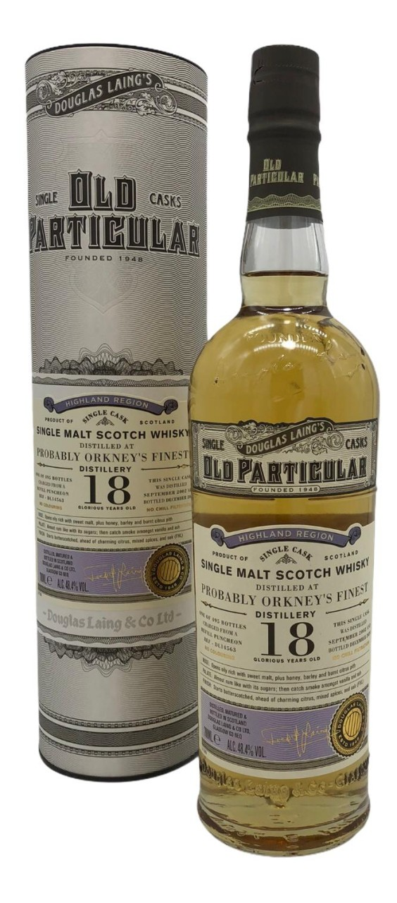 Old Particular Probably Orkney's Finest 18Y