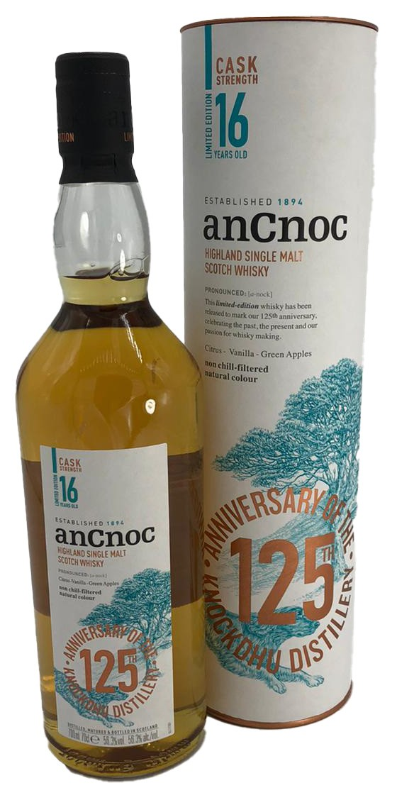 anCnoc 16 Years Old - 125 Anniversary