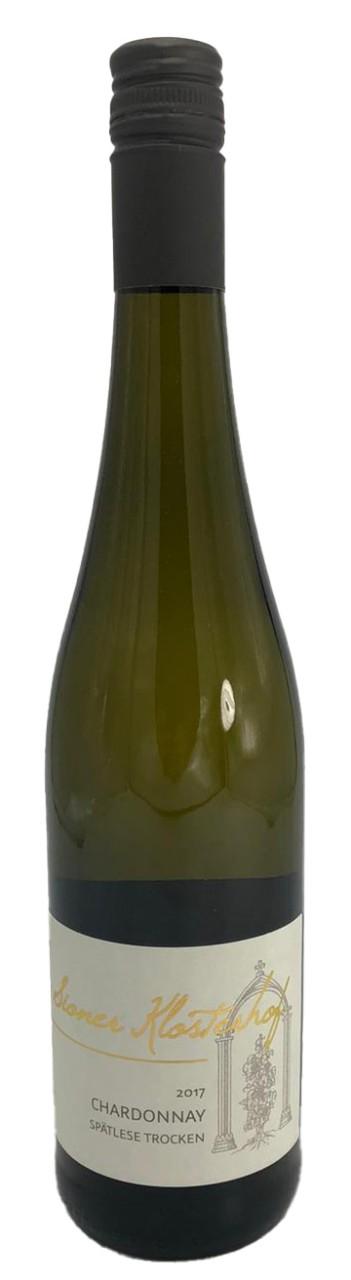 Sioner Klosterhof Chardonnay Spätlese trocken Weißwein 2017