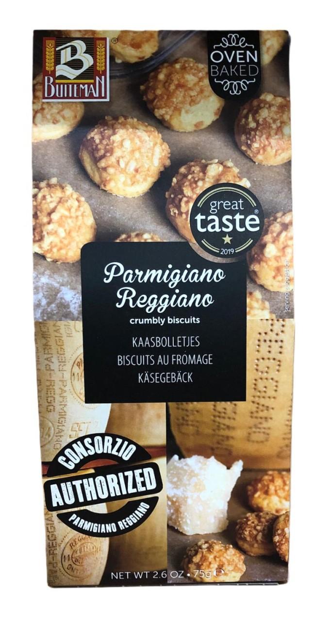 Buiteman Parmigiano Reggiano crumbly biscuits 75g