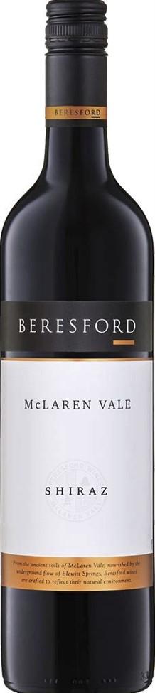 Beresford Shiraz McLaren Vale Rotwein trocken 2007