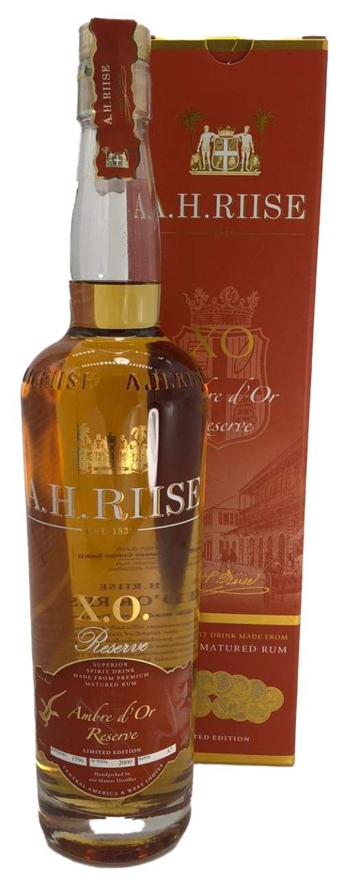 A. H. Riise X.O. Ambre d`Or Reserve