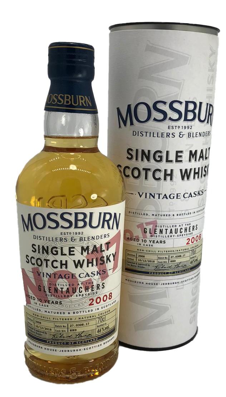 Mossburn Glentauchers Single Malt No. 17