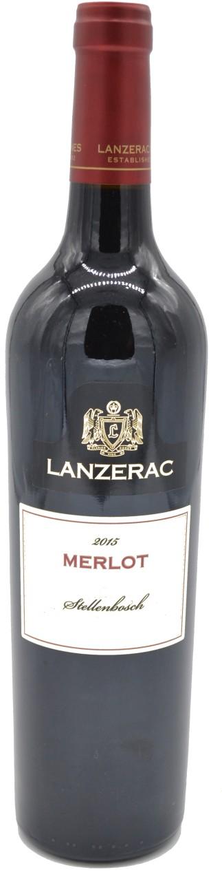 Lanzerac Merlot Rotwein 2015