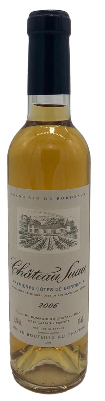 Chateau Suau Premieres Cotes de Bordeaux Vin Blanc Doux 2006 0,375l