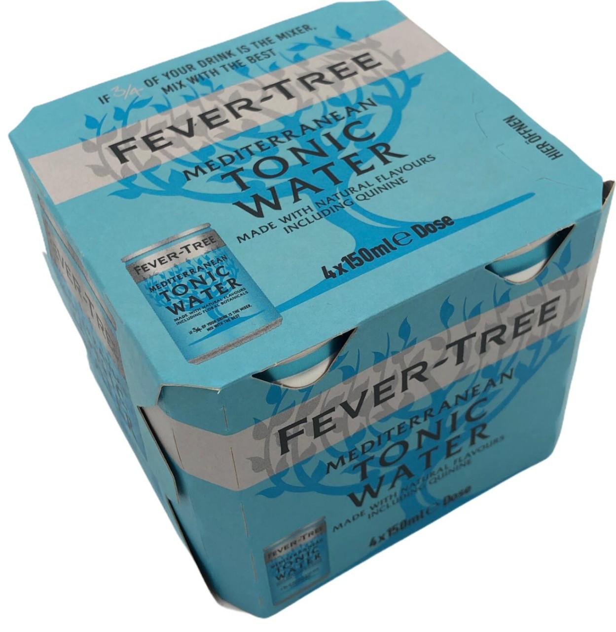 Fever-Tree Mediterranean Tonic in Dose 4x 150ml