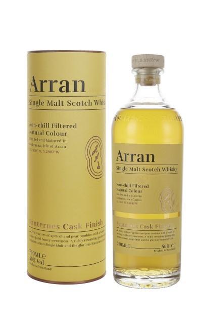 The Arran Sauternes finish Single Malt Whisky