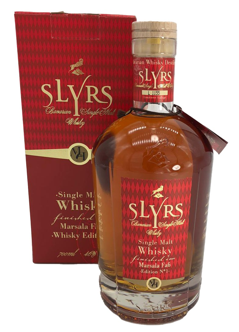Slyrs Single Malt Marsala Faß Finish - Whisky 1. Edition - LIMITIERTE AUFLAGE -
