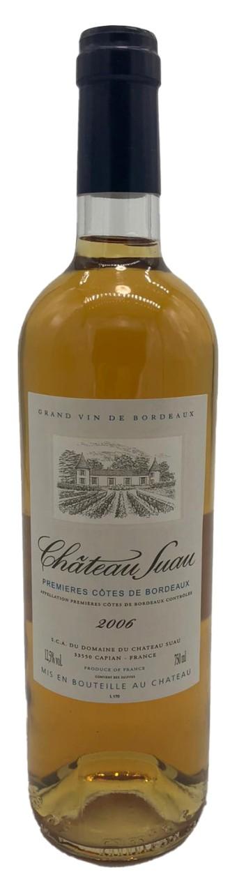 Chateau Suau Premieres Cotes de Bordeaux Vin Blanc Doux 2006