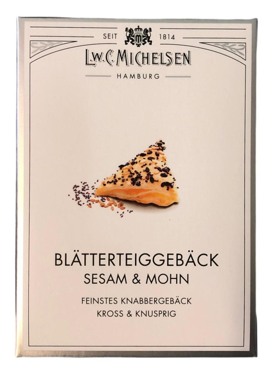 L.W.C. Michelsen Blätterteiggebäck Sesam & Mohn 60g