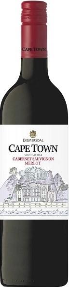 Diemersdal Cape Town Cabernet Sauvignon / Merlot Rotwein 2019