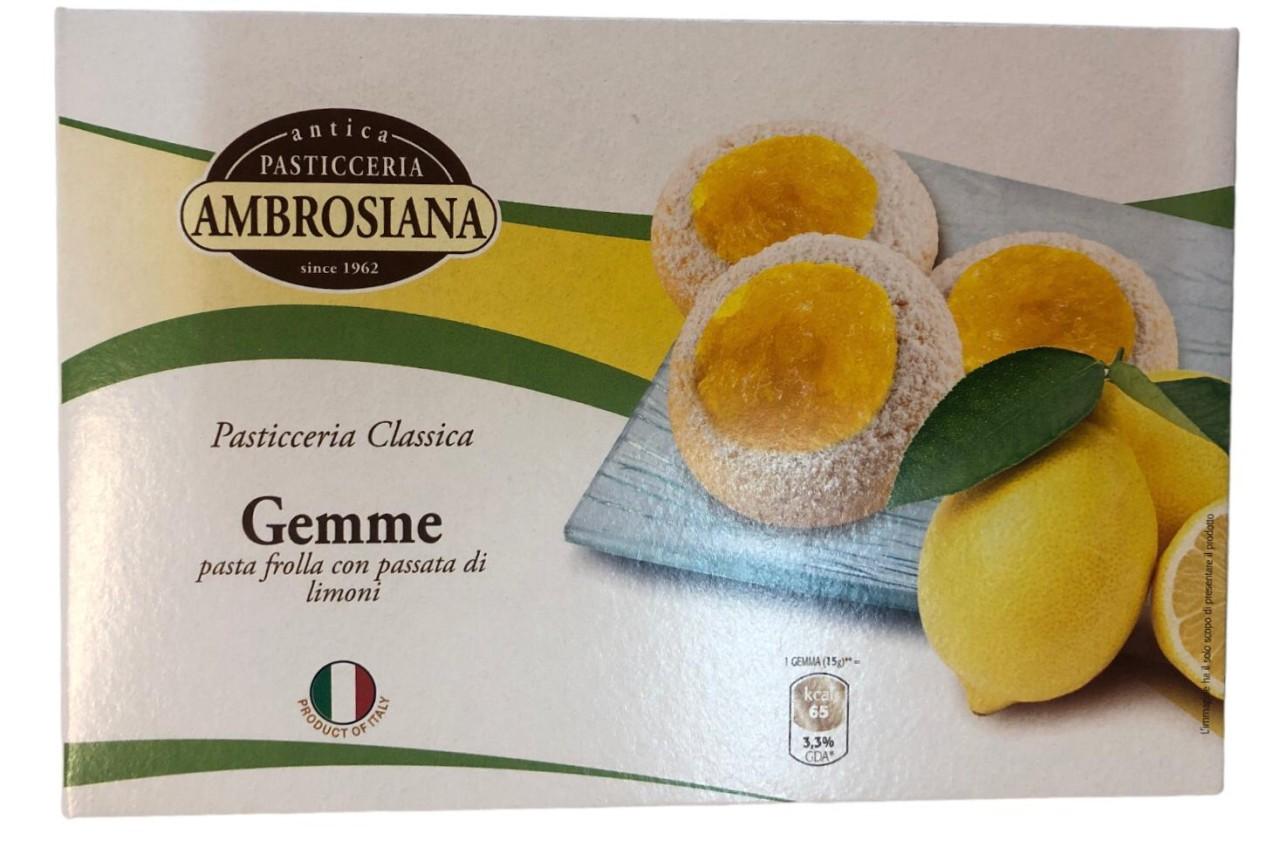 Pasticceria Ambrosiana Gemme frutti di bosco 150g