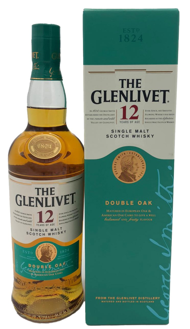 The Glenlivet 12 Years Single Malt Double Oak
