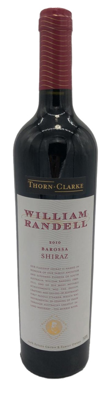 Thorn Clarke William Randel Eden Valley Barossa Shiraz 2010