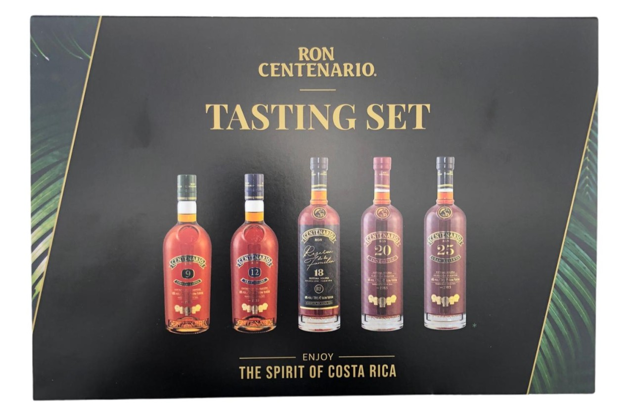Ron Centenario Tasting Set (5x 50ml)