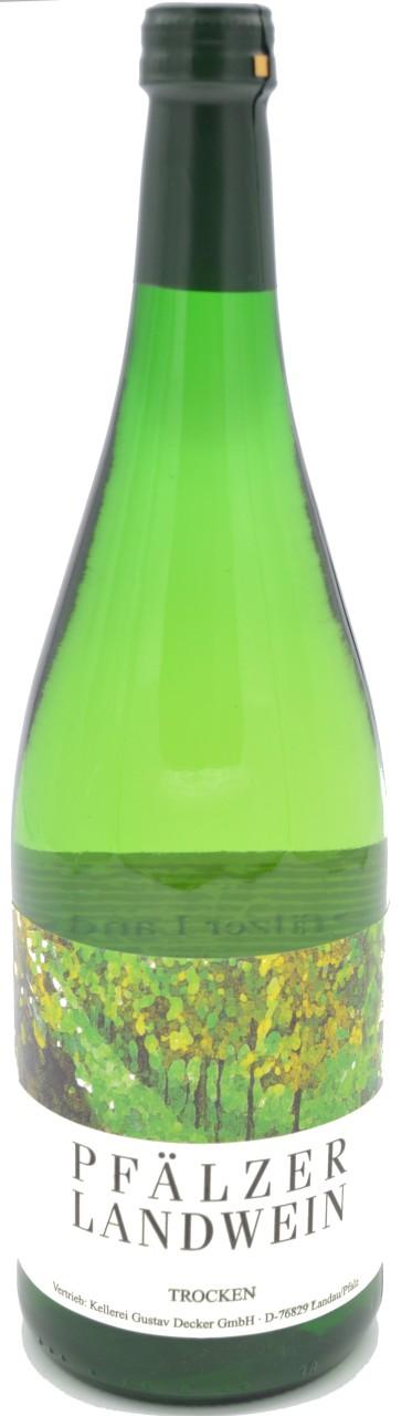 Pfälzer Landwein trocken 1L Weisswein