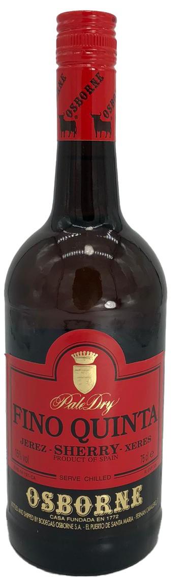 Fino Quinta Pale Dry Sherry Osborne