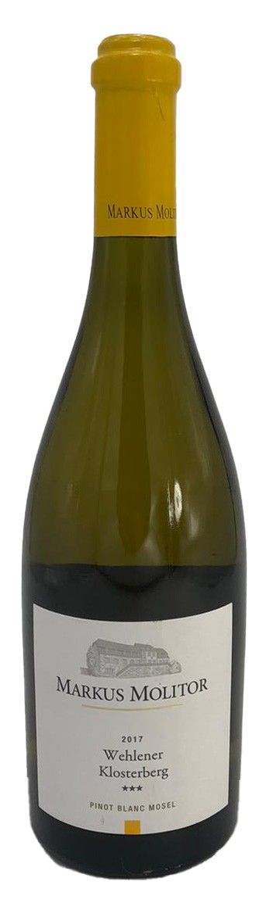 Markus Molitor Wehlener Klosterberg Pinot Blanc 3-Stern 2017
