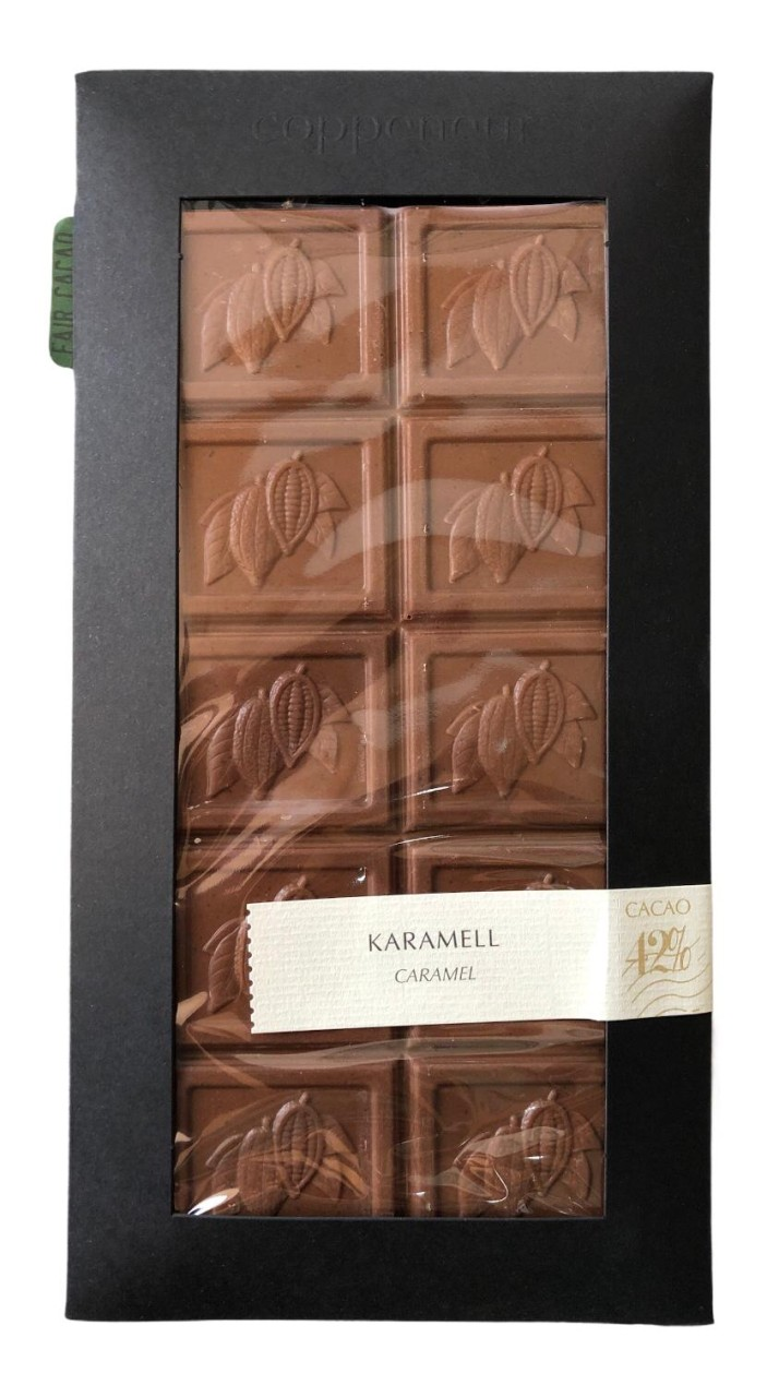 Coppeneur Karamell Cacao 42% 85g