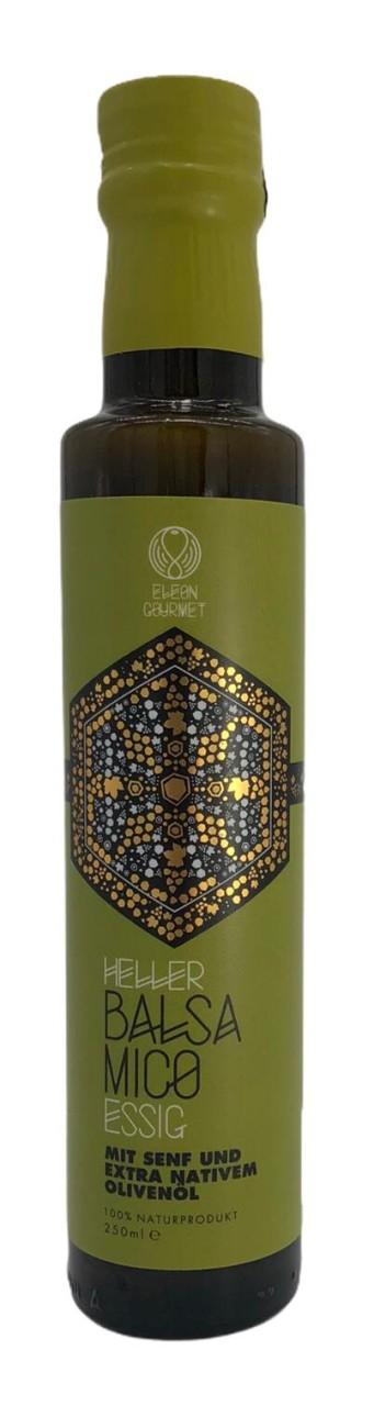 Elon Gourmet Balsamico Essig mit Senf und Olivenöl 250ml